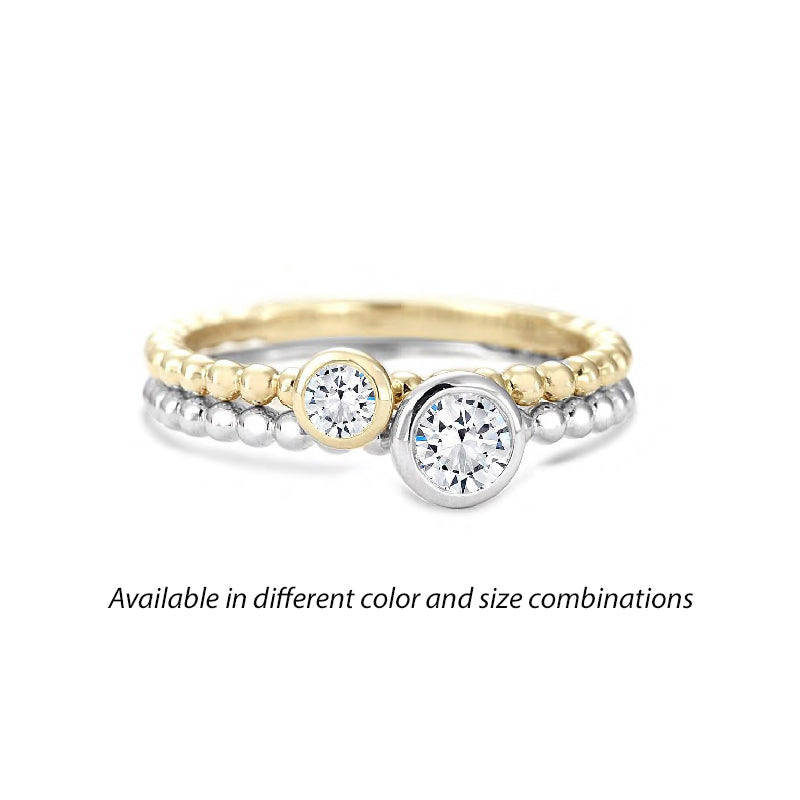 Forevermark Tribute™ Diamond Double Stack Band Set
