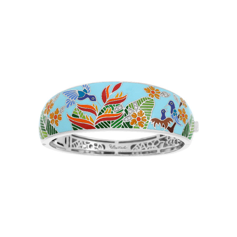Hummingbird Sky Blue Bangle