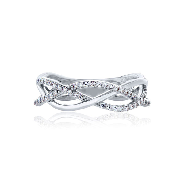 Forevermark Devotion Cut Diamond Twist Ring
