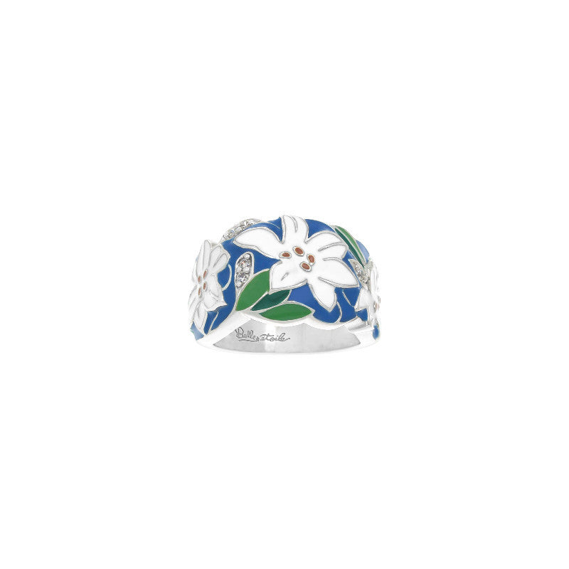 Tiger Lily Blue Ring