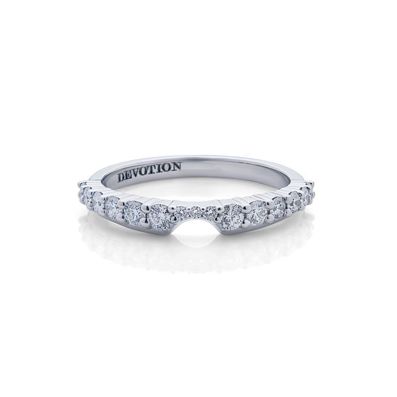 Olivia Forevermark Devotion Cut Diamond Wedding Band