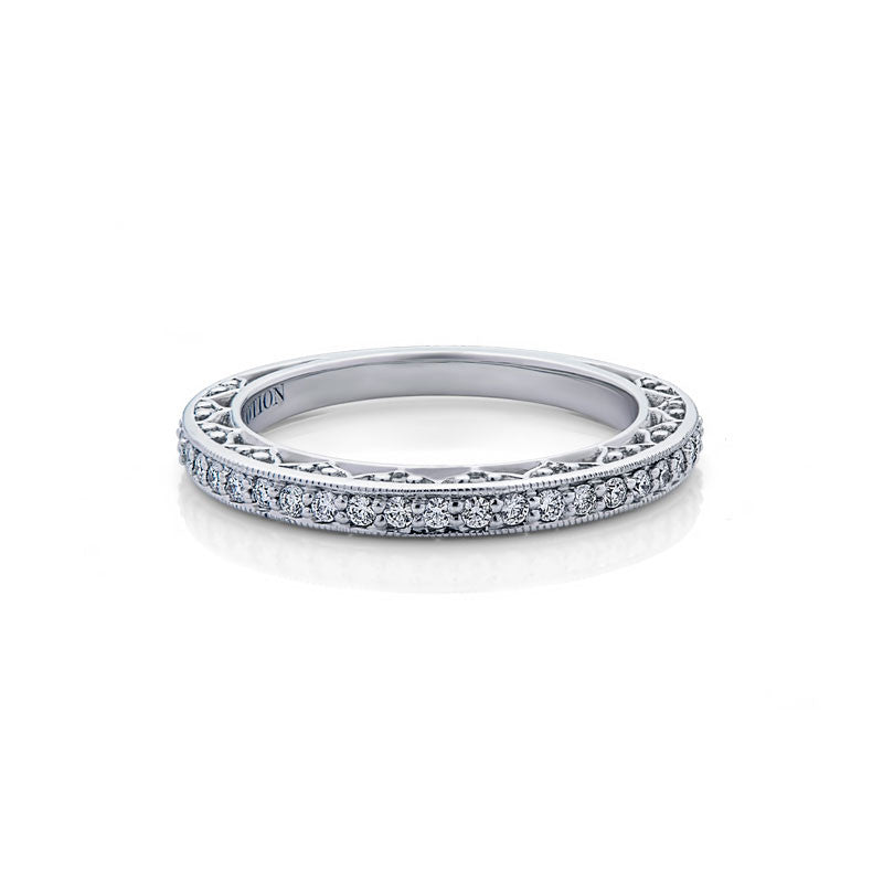 Vivien Forevermark Devotion Cut Diamond Wedding Band