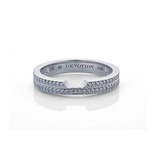 Jacqueline Forevermark Devotion Cut Diamond Wedding Band
