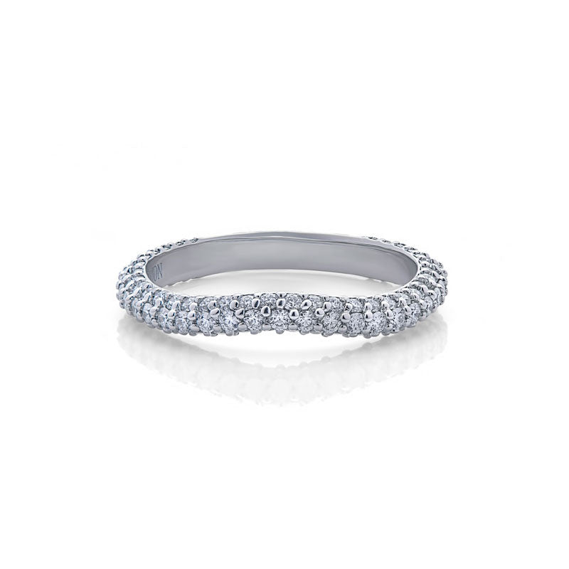 Francesca Forevermark Devotion Cut Diamond Wedding Band