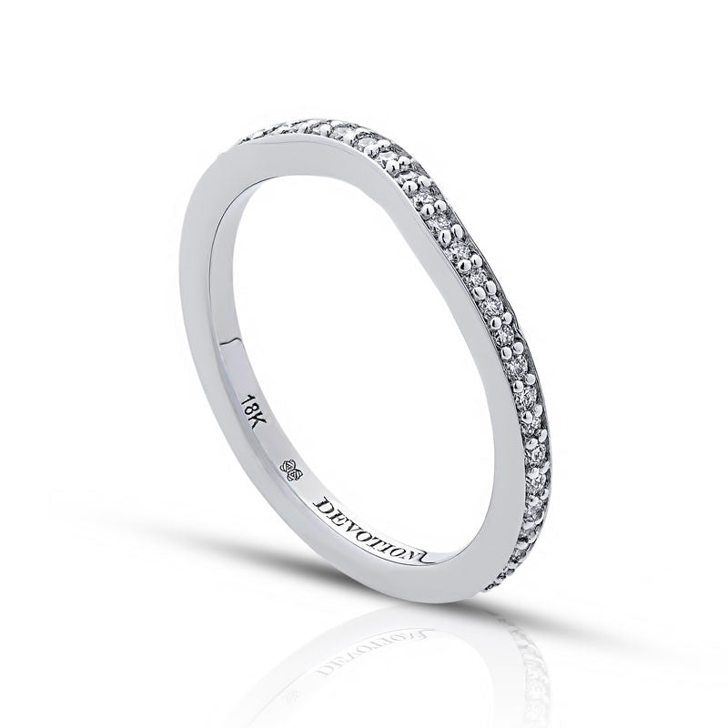 Emily Forevermark Devotion Cut Diamond Wedding Band