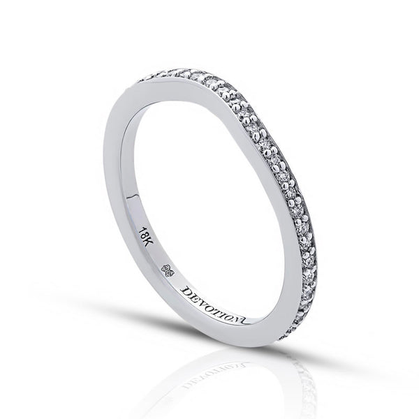 Chantal Forevermark Devotion Cut Diamond Wedding Band