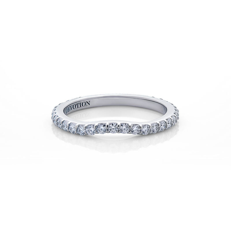 Emma Forevermark Devotion Cut Diamond Wedding Band