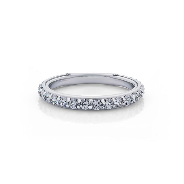Marielle Forevermark Devotion Cut Diamond Wedding Band