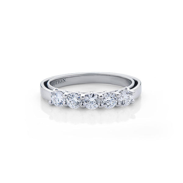 Diana Forevermark Devotion Cut Diamond Wedding Band