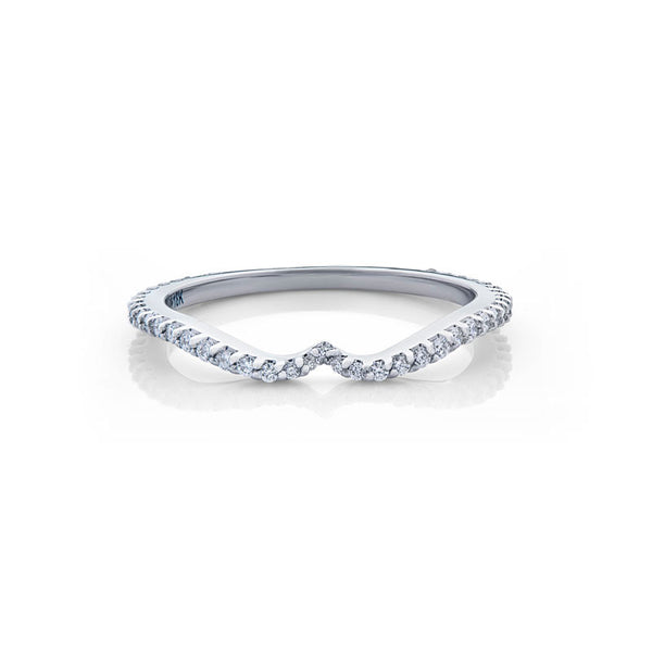 Grace Forevermark Devotion Cut Diamond Wedding Band