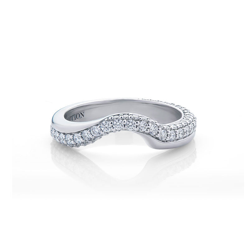 Alexandria Forevermark Devotion Cut Diamond Wedding Band