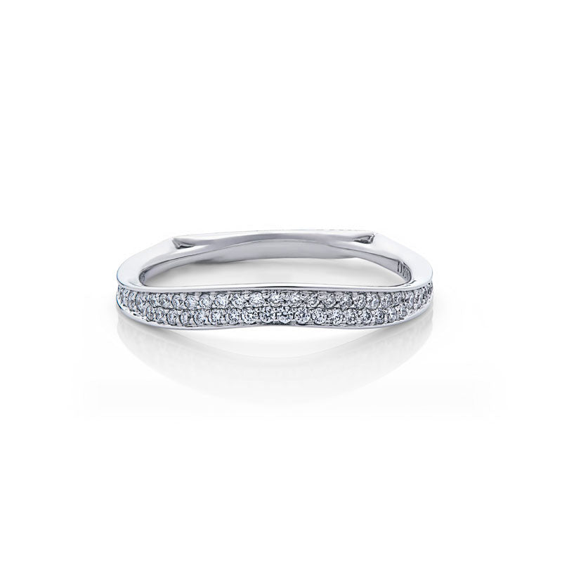 Melissa Forevermark Devotion Cut Diamond Wedding Band