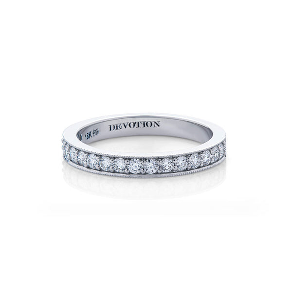 Elizabeth Forevermark Devotion Cut Diamond Wedding Band
