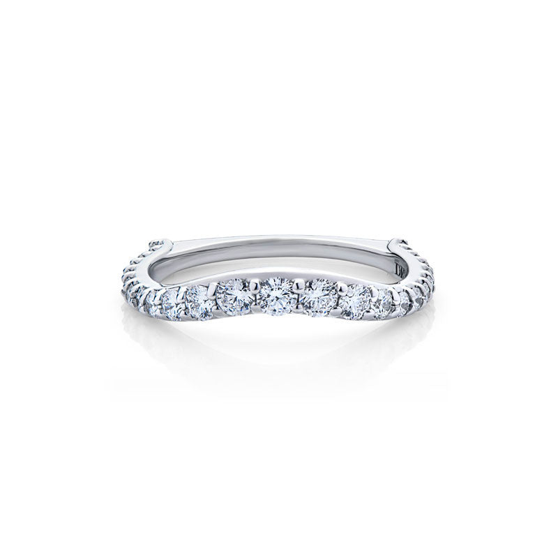 Simone Forevermark Devotion Cut Diamond Wedding Band