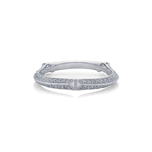 Claudia Forevermark Devotion Cut Diamond Wedding Band