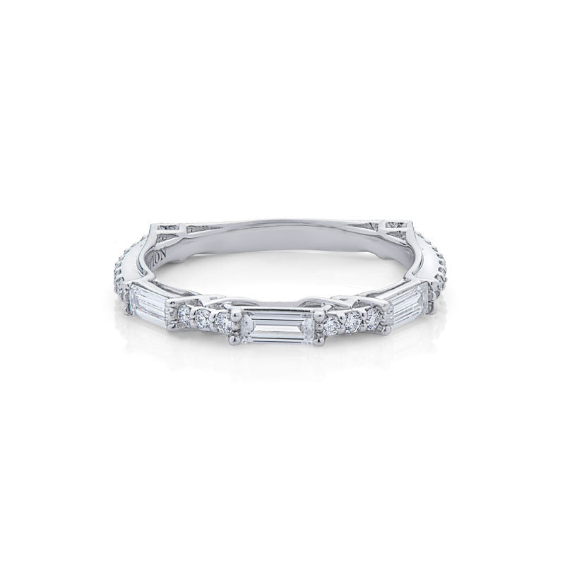 Lucille Forevermark Devotion Cut Diamond Wedding Band