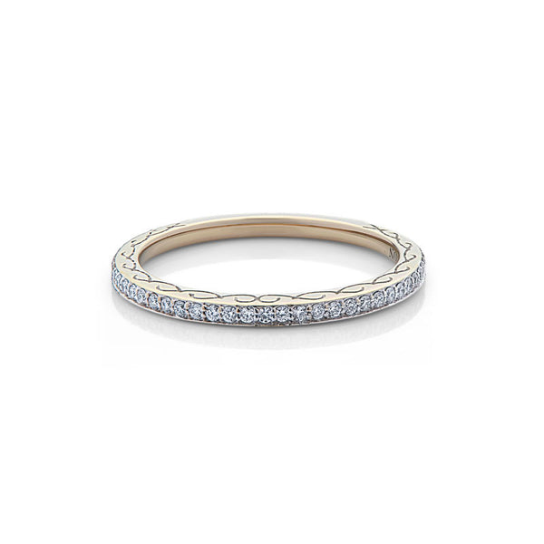Ava  Diamond Wedding Band