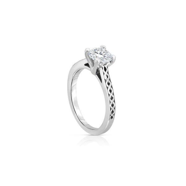 Maevona Dunfermline Round Brilliant Diamond Engagement Ring