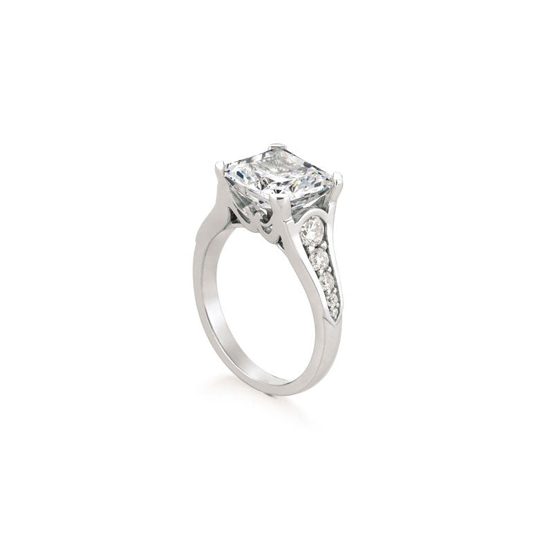 Maevona Lochawe Square Cut Diamond Engagement Ring