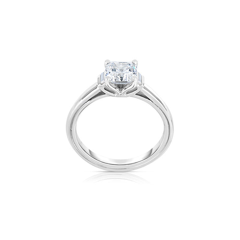 Maevona Allasdale Square Cut Diamond Engagement Ring