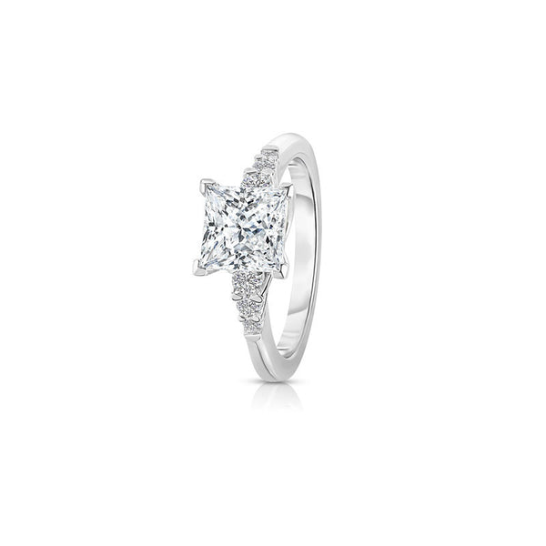 Maevona Arbroath Princess Cut Diamond Engagement Ring