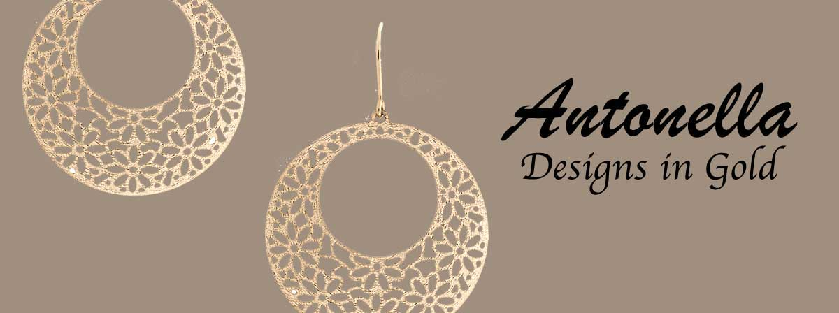 Antonella Italian Designs in Gold