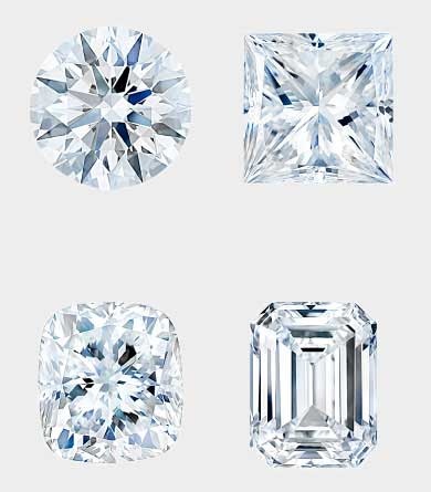 Diamonds Come In All Different Shapes