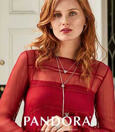 Enjoy a great selection in our Pandora Shop and Shop plus the convenience of Free Onsite Parking