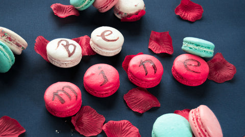 Valentine's Day Red Traditional French Macarons
