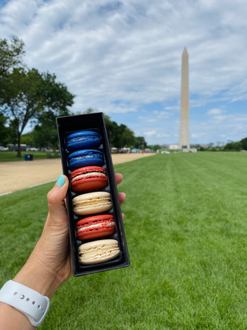 snack on the go at national mall