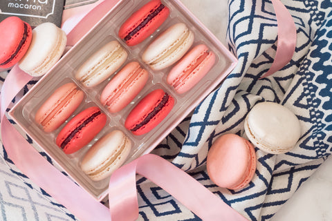Macaron Gift Box to Benefit Cancer Research