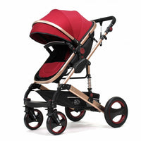 3 in 1 Pram - Carry Bed & Car Seat