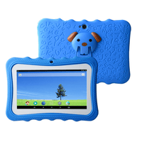 "7"" Android Kids Tablet + Free Silicone Cover - Blue"