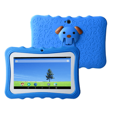 "7"" Android Kids Tablet + Free Silicone Cover - Blue Exclusivebrandsonline"