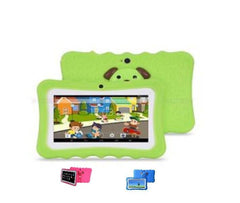 "7"" Android Kids Tablet + Free Silicone Cover - Green Exclusivebrandsonline"