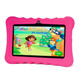 "7"" Android Kids Tablet + Free Silicone Cover - Pink Exclusivebrandsonline"