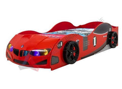 BMW Style Kids Car Electric Car Bed With Lights Exclusivebrandsonline