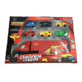 Cars 3 Friction Power Cars & Container Truck Set Exclusivebrandsonline