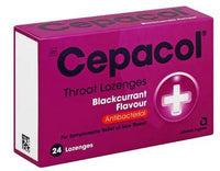 Cepacol Throat Lozenges Blackcurrent 24