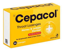 Cepacol Throat Lozenges Honey/Lemon 24