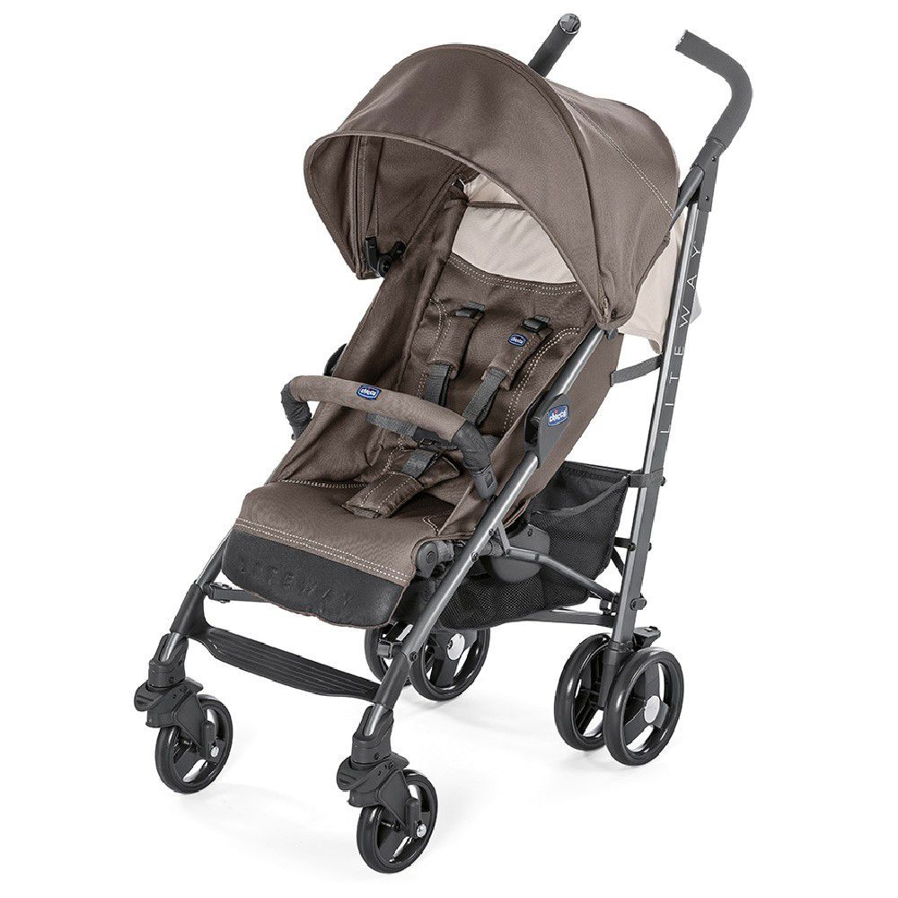 Chicco - Liteway3 Basic With Bumper Bar - Dark Beige Prima Baby