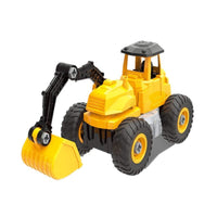 City Truck 1 - Excavation Truck Building Set