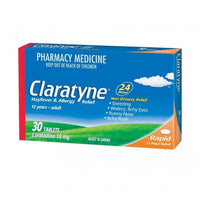 Clarityne Tablets 30's