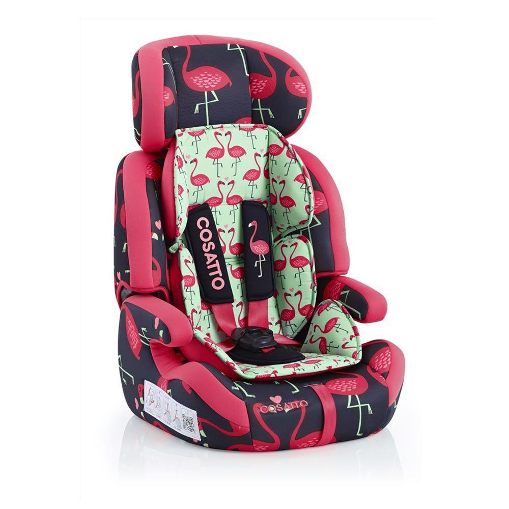 Cosatto - Zoom 123 Car Seat - Flamingo Fling - Pink Prima Baby