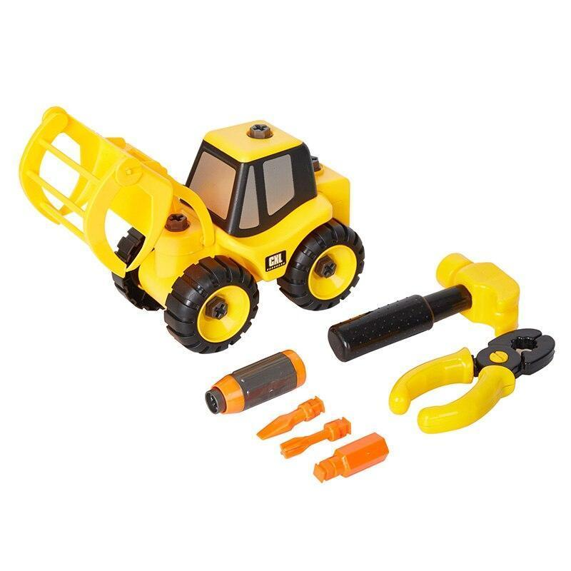 DIY Multi-Functional Die Cast Tractor & Tool Set Exclusivebrandsonline