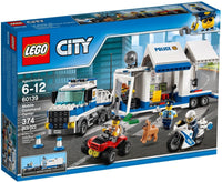 LEGO® City Police Mobile Command Center: 60139
