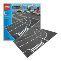 LEGO® City Supplementary T-junction & Curve -7281