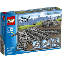 LEGO® City Train Switch Tracks -7895