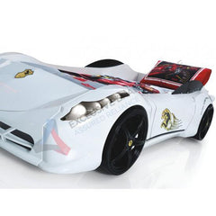 Ferrari Style Electric Kids Car Bed With Lights & Sound Exclusivebrandsonline