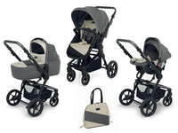 Foppapedretti - 3 Chic Travel System - Ice Grey